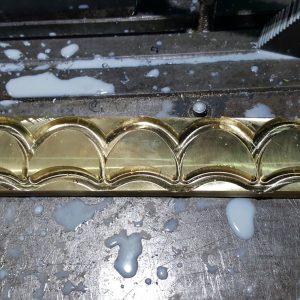 Brass Part Machining